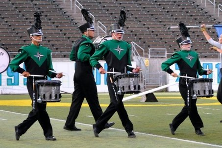 The Oregon Crusaders are a nationally ranked drum corps.