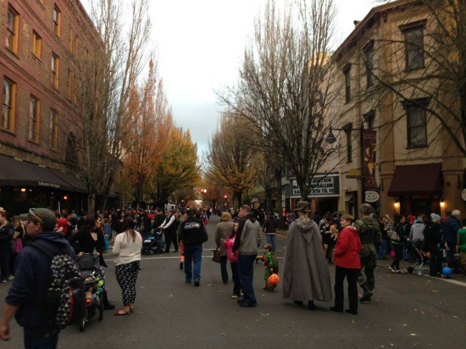 McMinnville's Safe and Sane Halloween event brings thousands of kids and parents to the city's downtown.